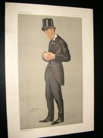 Vanity Fair Print 1892 Gainsford Bruce, Legal